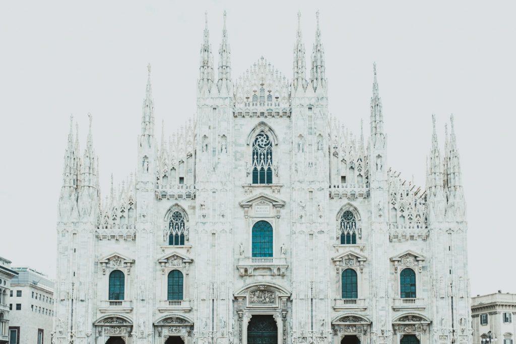 Duomo facade Milan