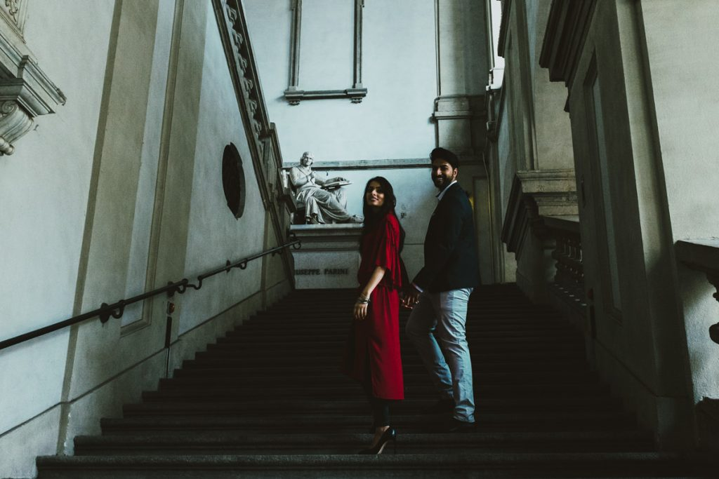 couple portrait Accademia Brera