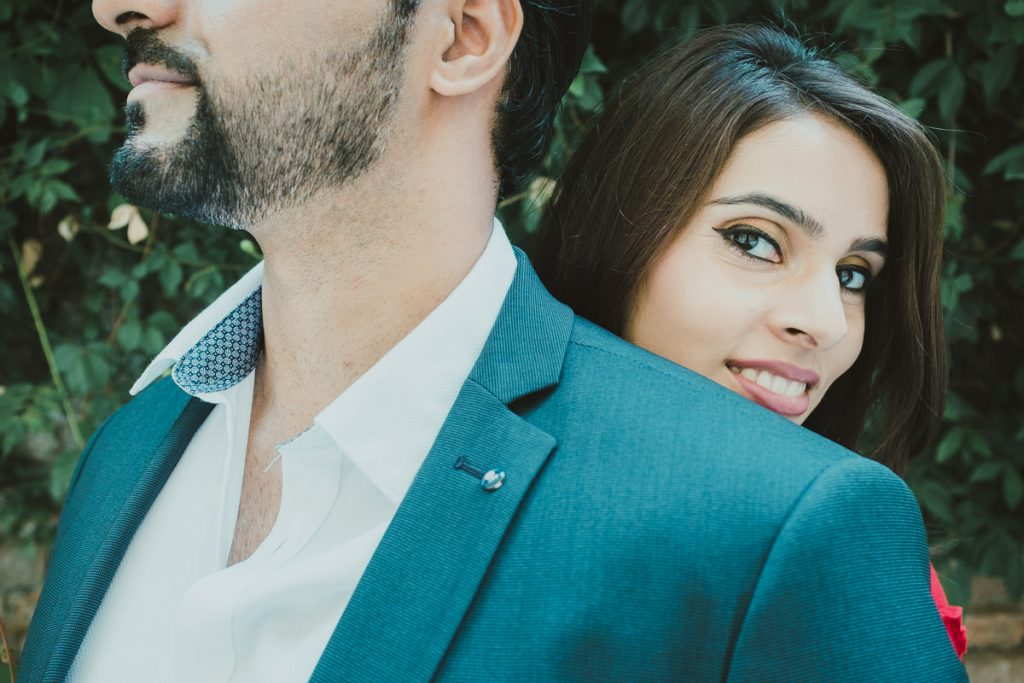 intimate engagement photography in Brera