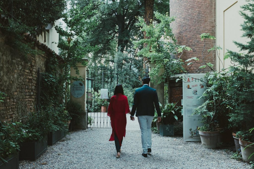 wedding and portrait photography in Brera