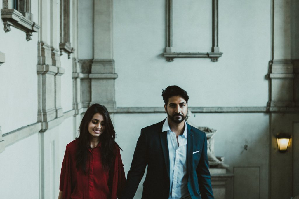 engagement photography in Brera
