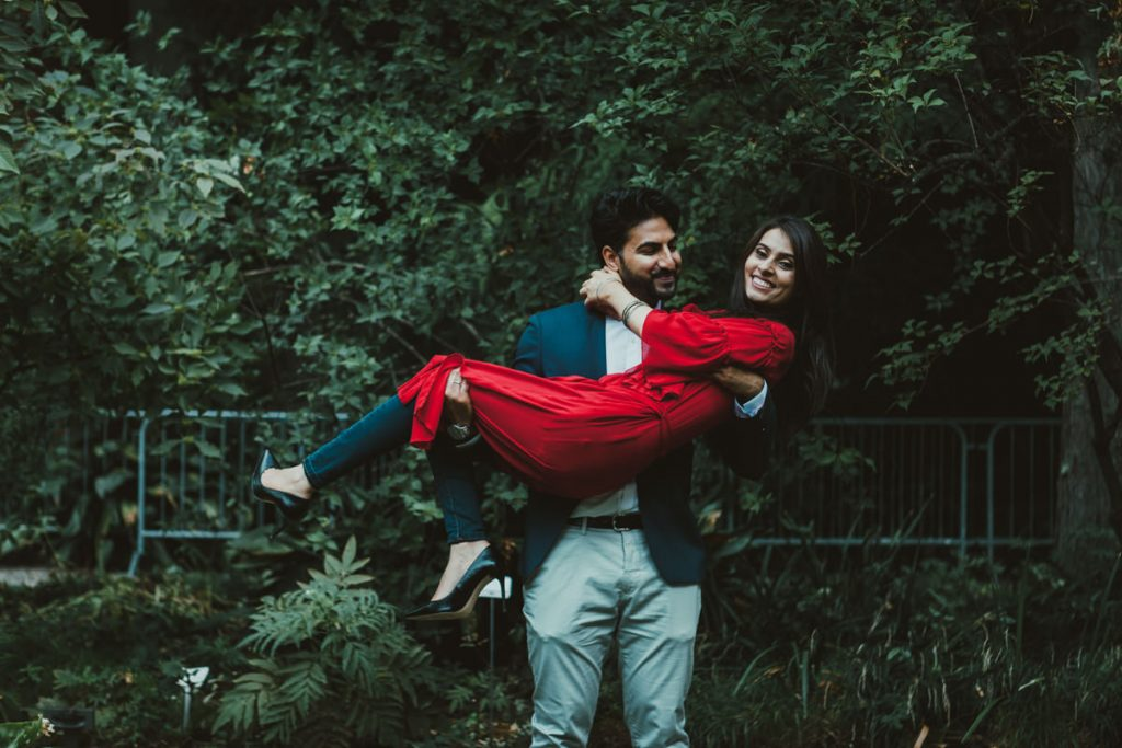 couple photographic session in Brera